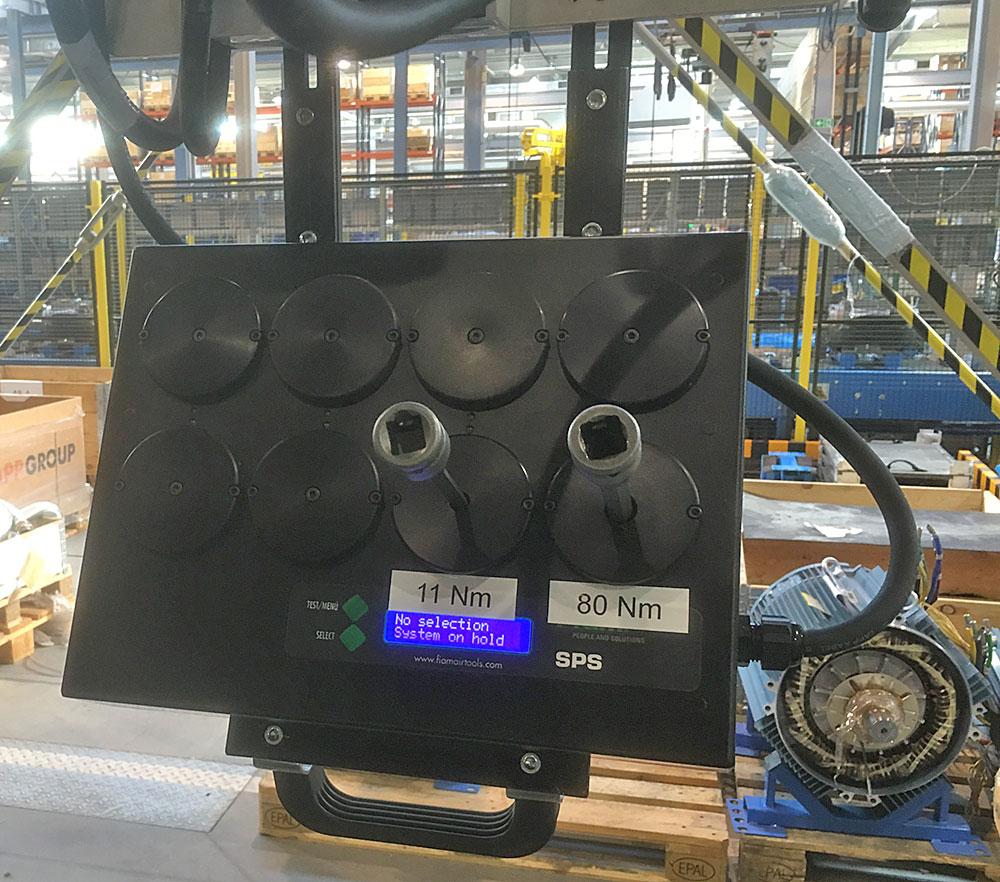 montaż silników elektrycznych