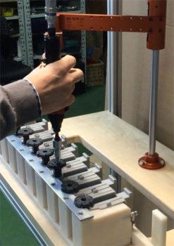 montaż nóżek zmywarki