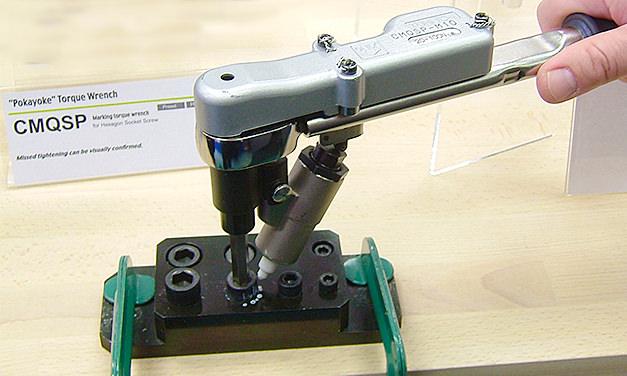 Klucz dynamometryczny znakujący CMQSP