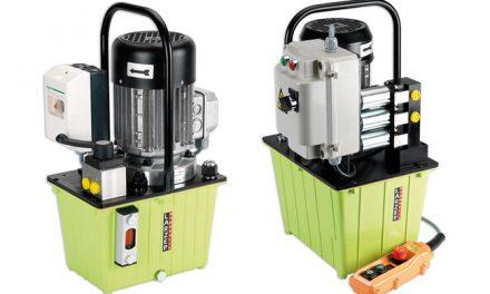 Pompy hydrauliczne z napędem elektrycznym serii HAM oraz HAE