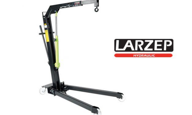 Przenośne dźwigi hydrauliczne Larzep serii DLG
