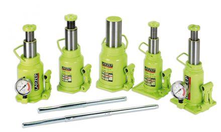 Hydrauliczne podnośniki butelkowe Larzep serii A, AB oraz AC
