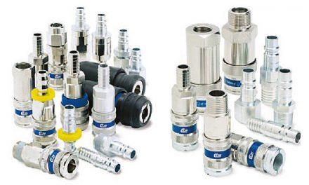 Szybkozłączki pneumatyczne serii 320, 300, 410, 430, 550 CEJN