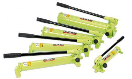 Ręczne pompy hydrauliczne LARZEP serii W oraz X